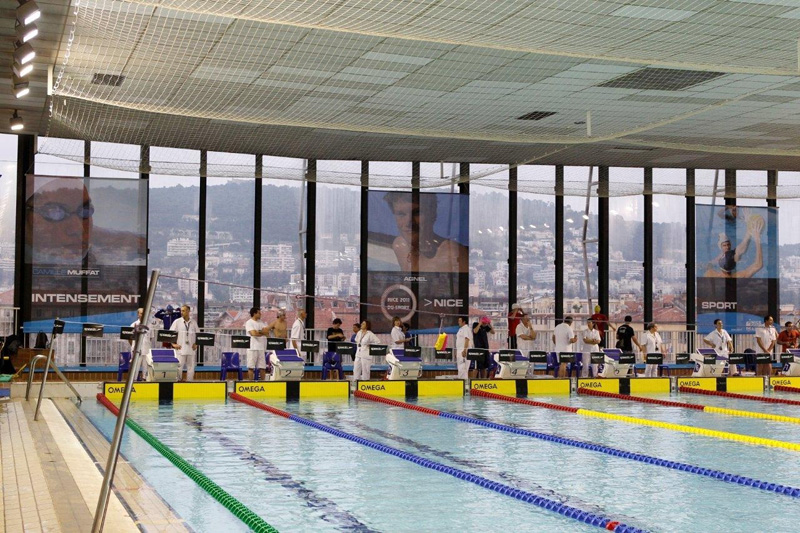 European masters games 2015 for Piscine jean bouin